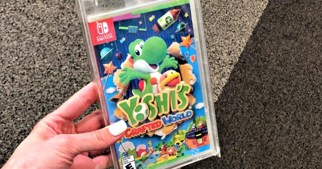 Game Video Nintendo Switch Dunia Buatan Yoshi
