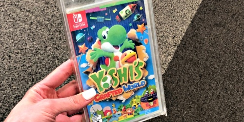 Yoshi's Crafted World Nintendo Switch Game Only $39.99 Shipped (Regularly $60)