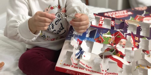 This Advent Calendar w/ Metal Puzzles is My Favorite One Yet (& Only $13.99 on Amazon!)