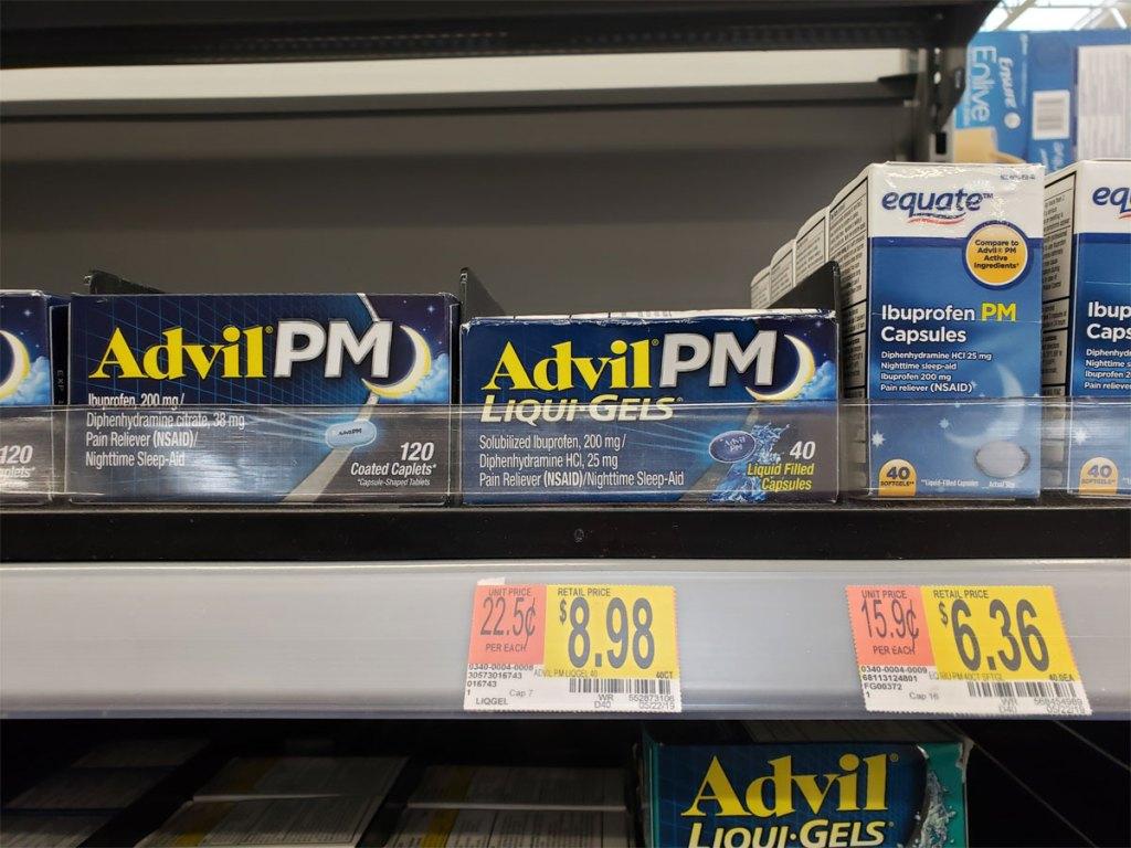 AdvilPM Liqui-Gels 40-count