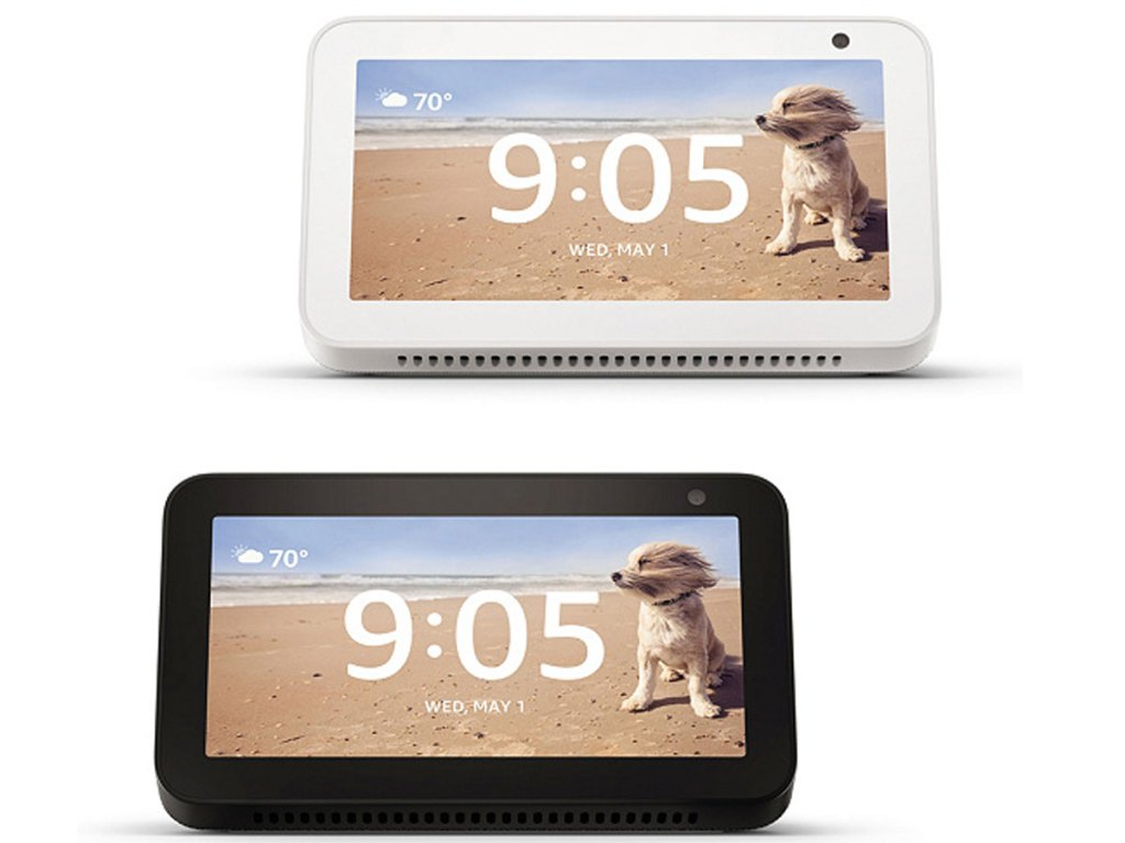 Amazon 2-Pack of Echo Show 5 Displays with Alexa and vouchers
