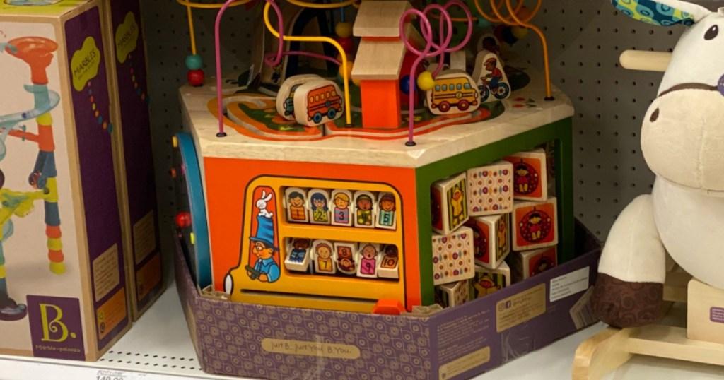 b. Toys at Target
