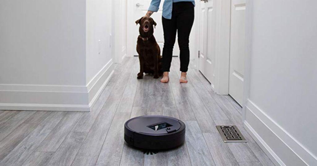 bObsweep PetHair Plus Robotic Vacuum Cleaner and Mop