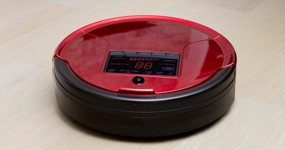 Bobsweep Self Charging Robot Vacuum Mop Only 179 99