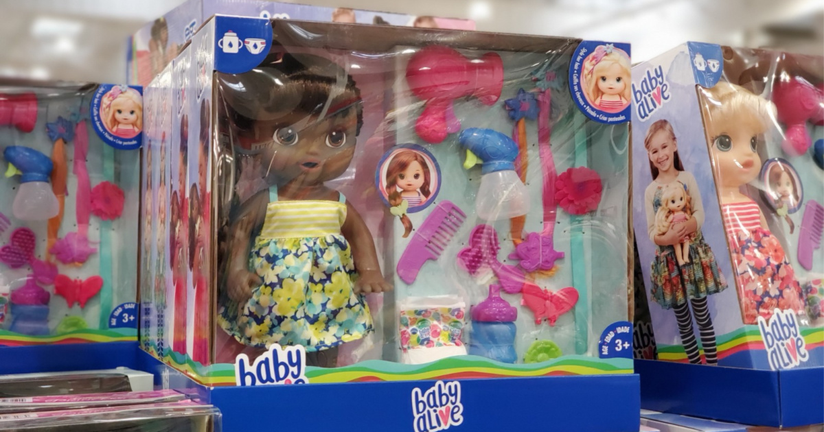 Baby Alive Hairstyle Dolls Just $19.99 at Costco - Hip2Save