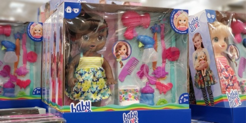 Baby Alive Hairstyle Dolls Just $19.99 at Costco