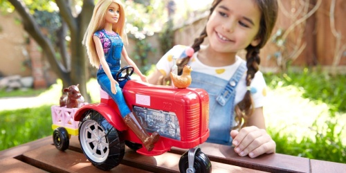 Barbie Farmer Doll, Tractor & Animals Set Only $17 on Walmart.com (Regularly $30)