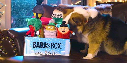 First Super Chewer BarkBox ONLY $5 Shipped ($45 Value) | Includes Dog Toys, Treats & More