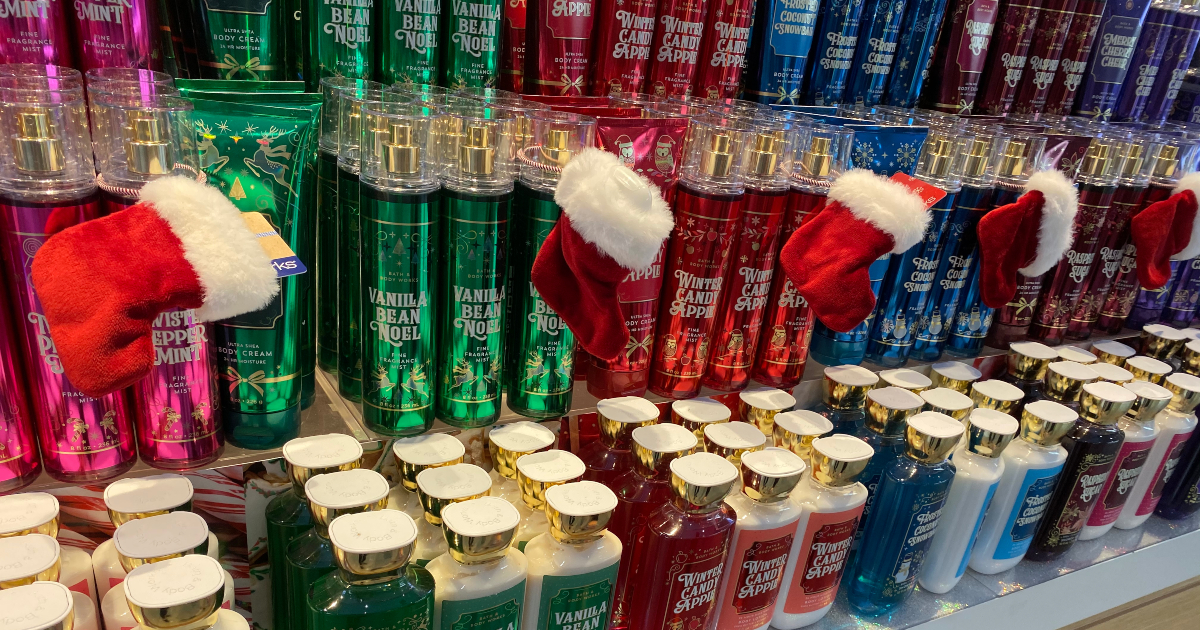 Bath & Body Works holiday collection