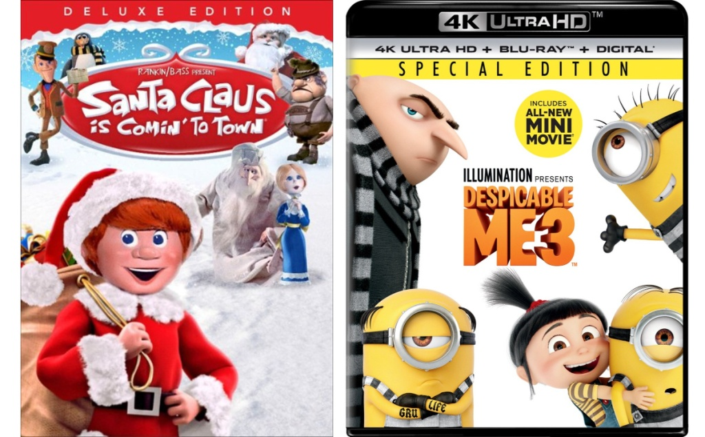 santa claus is coming to town, despicable me 3