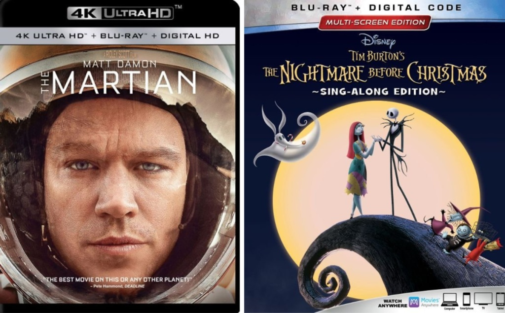 the martian, the nightmare before christmas