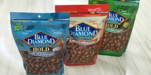Blue Diamond Almonds 16oz Bag Only $4.99 at Walgreens (Regularly $10)