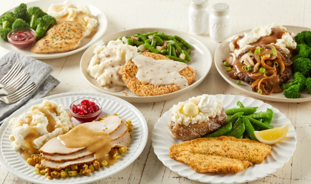 Bob Evans Veterans Day meals