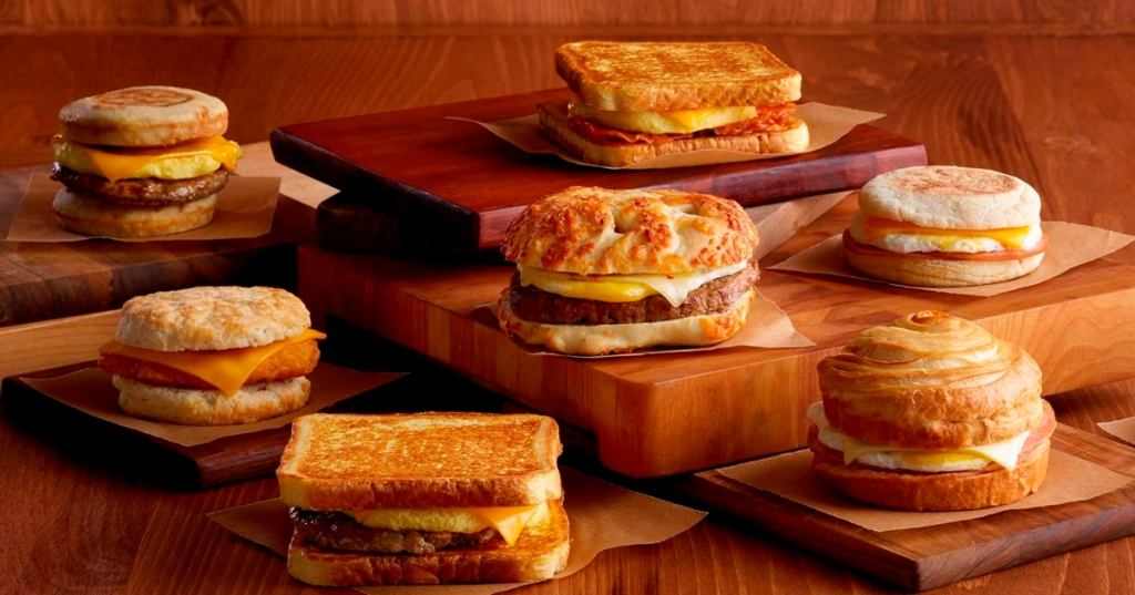 Pilot Flying J breakfast sandwiches