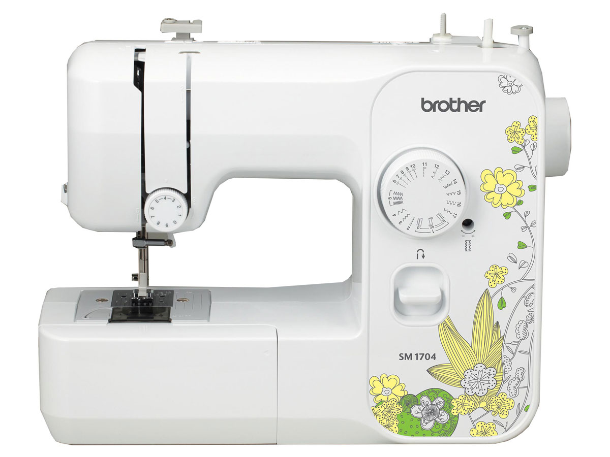 stock image of Brother SM1704 Lightweight Full Size Sewing Machine