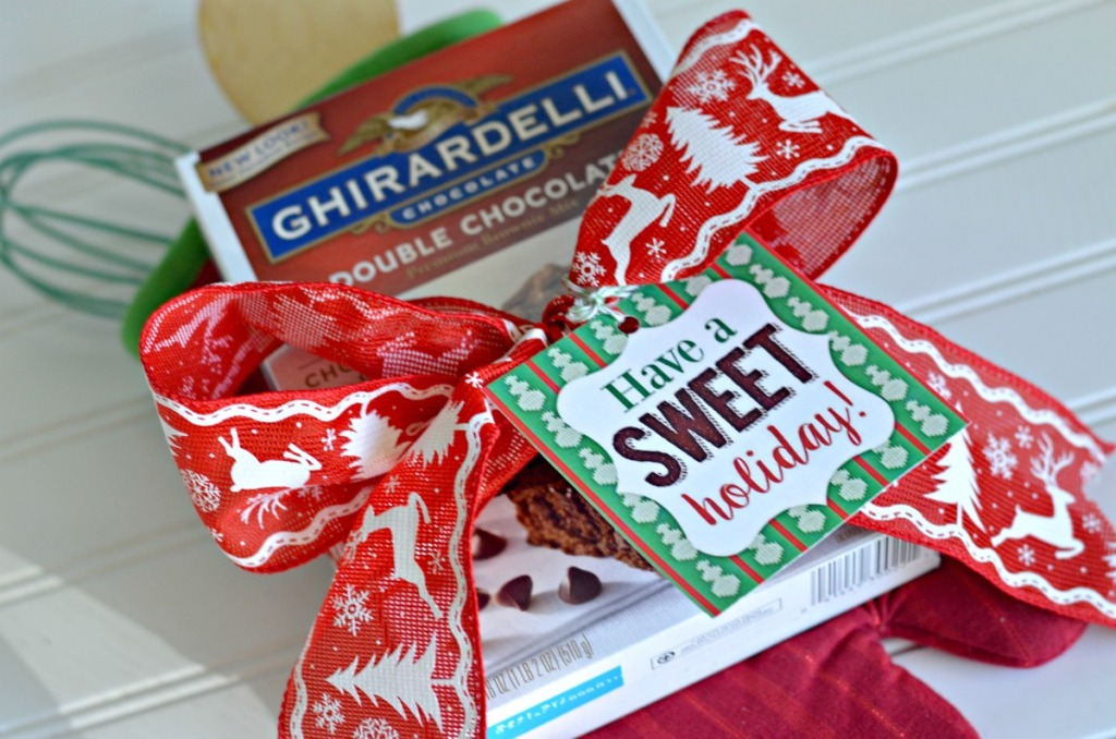 brownie mix easy christmas gift