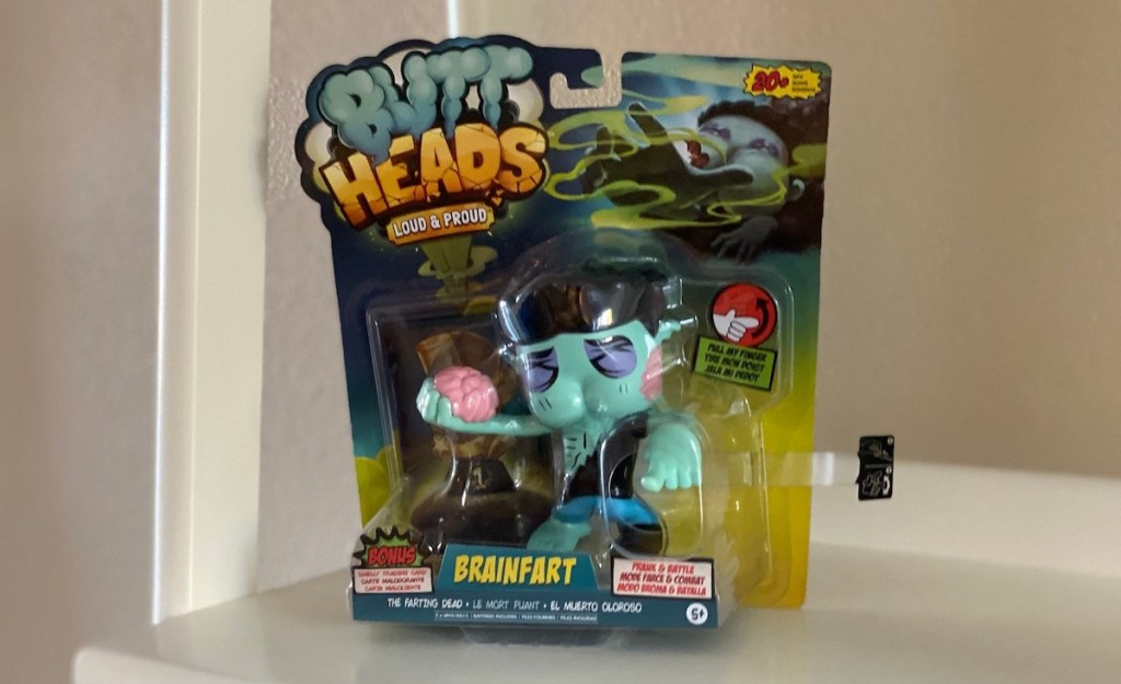 farting wowwee butthead zombie in box