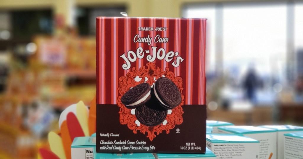 Candy Cane Joe Joe's at Trader Joes