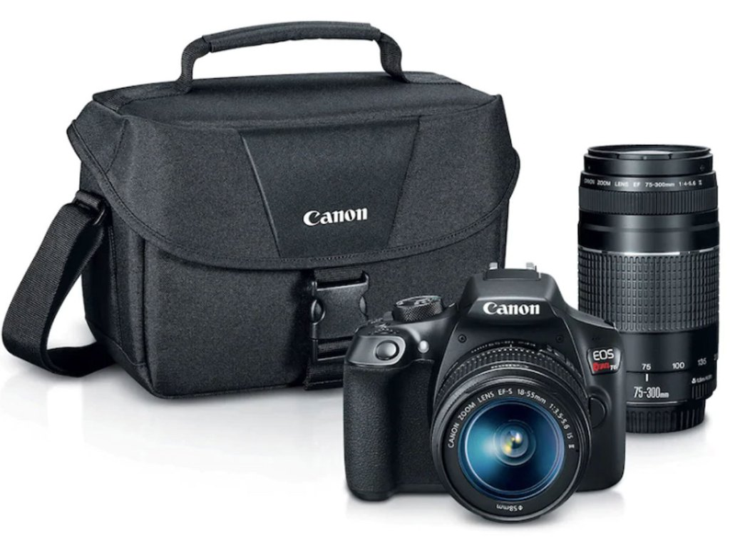 stock image of Canon EOS Rebel T6 DSLR Camera