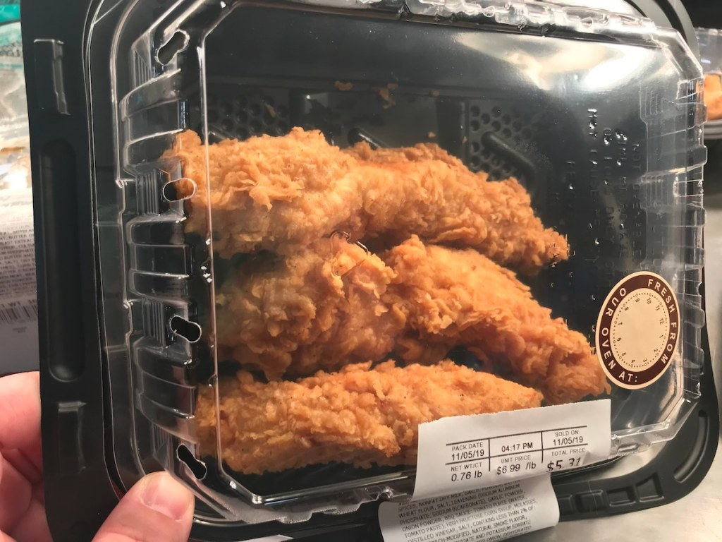 chicken tenders at Kroger