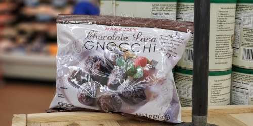 Now Available at Trader Joe's: Chocolate Lava Gnocchi