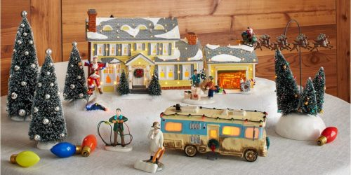 Create Your Own Christmas Vacation Village w/ These Fun Figurines at Amazon