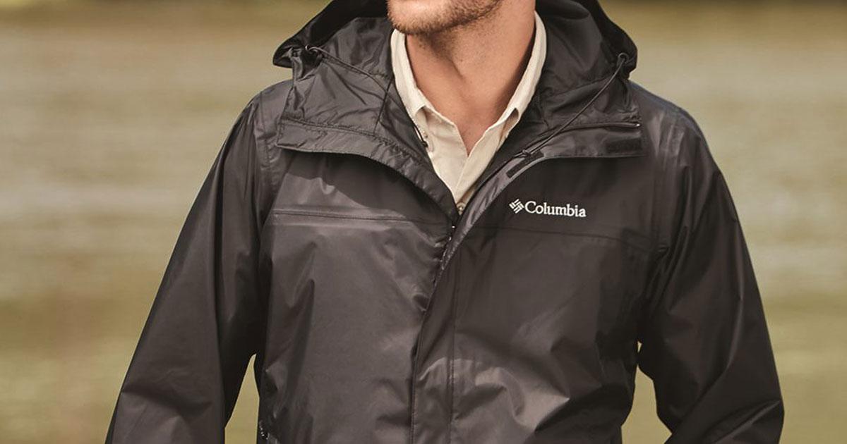 man wearing columbia jacket