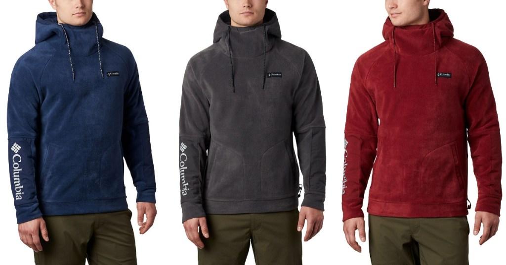 columbia-mens-fleece-hoodies
