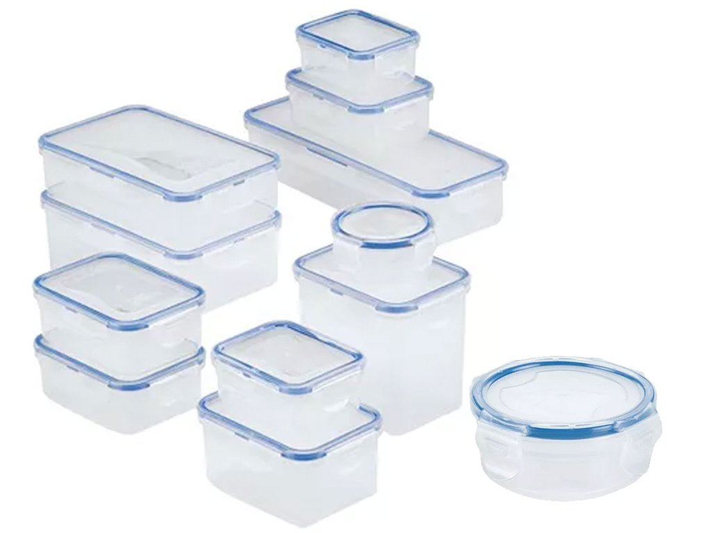 24-Piece Lock n Lock Easy Essentials Food Storage Container Set