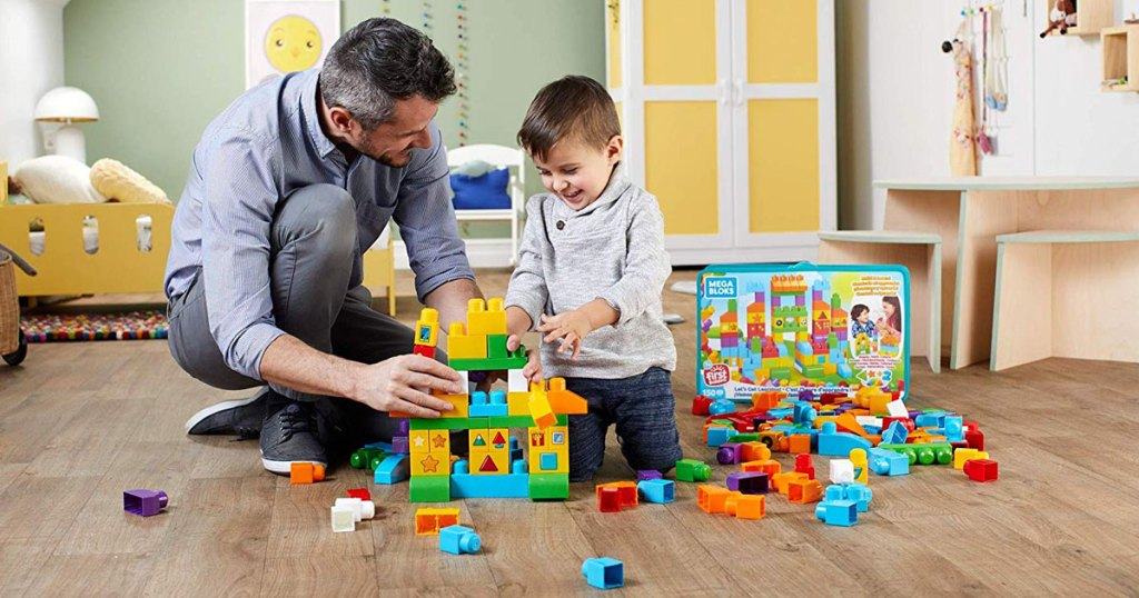 Mega Bloks Let's Get Learning 150-Piece Building Set