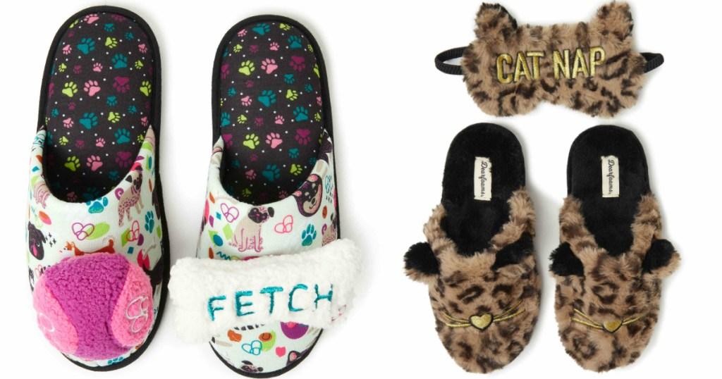 dearfoams-animal-slippers
