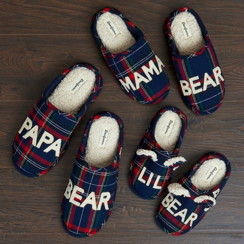 dearfoamsfamilycollectionslippers