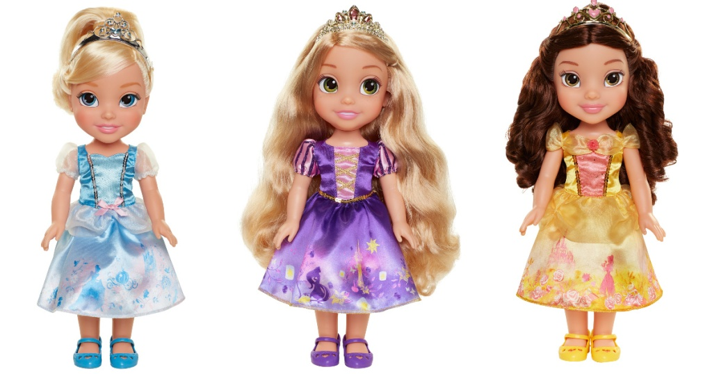 three disney princess explore your world dolls