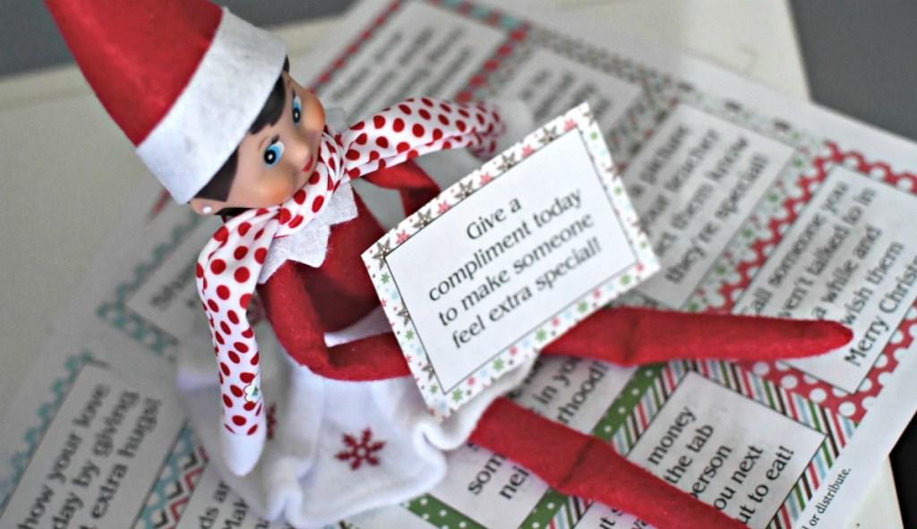 good deed elf on the shelf