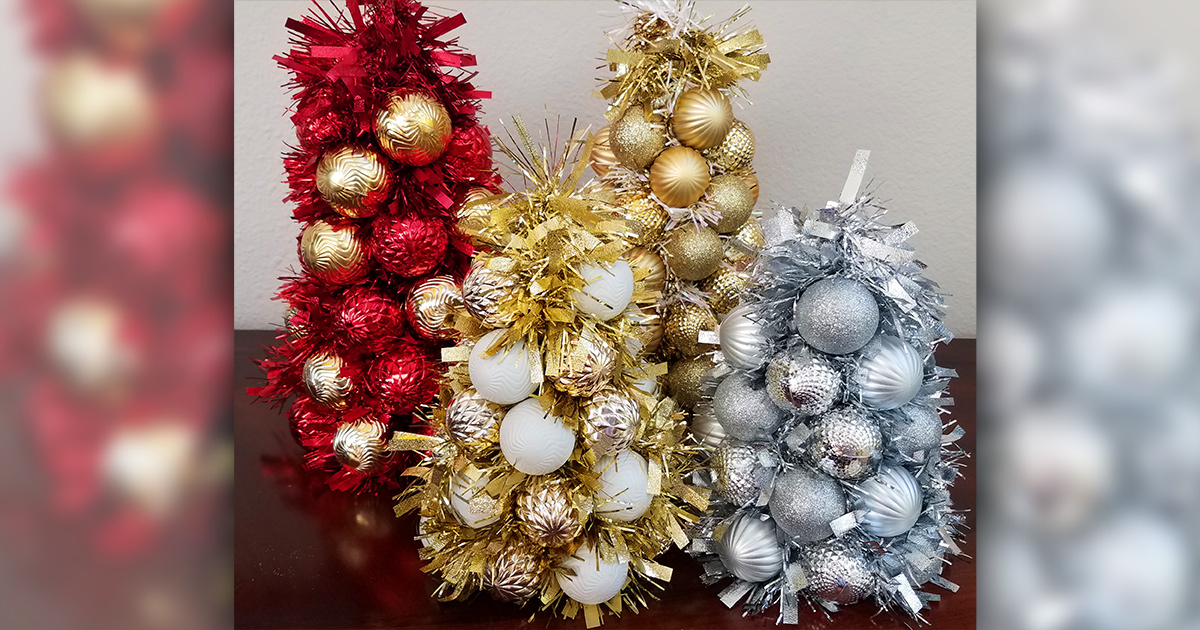 Diy Dollar Tree Christmas Decoration Idea Using Cheap Crafting