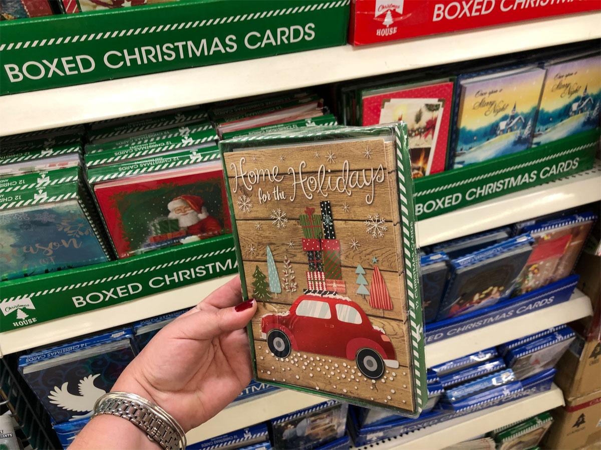 Christmas House Whimsical Boxed Christmas Cards, 12 ct.