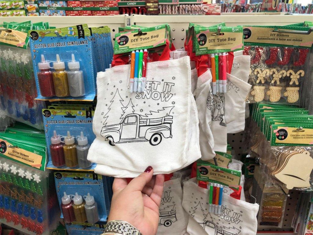 Holiday DIY Tote Bag