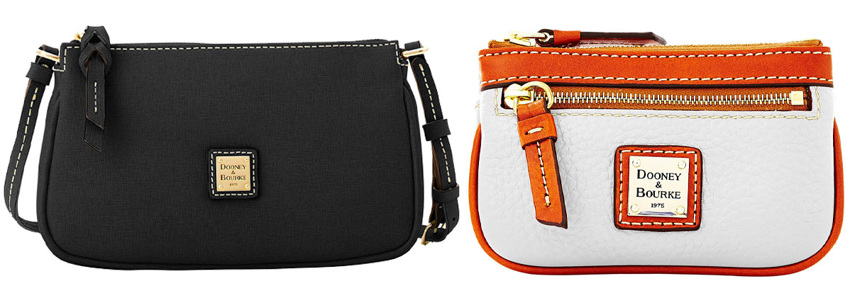 dooney & Bourke leather crossbag and coin purse