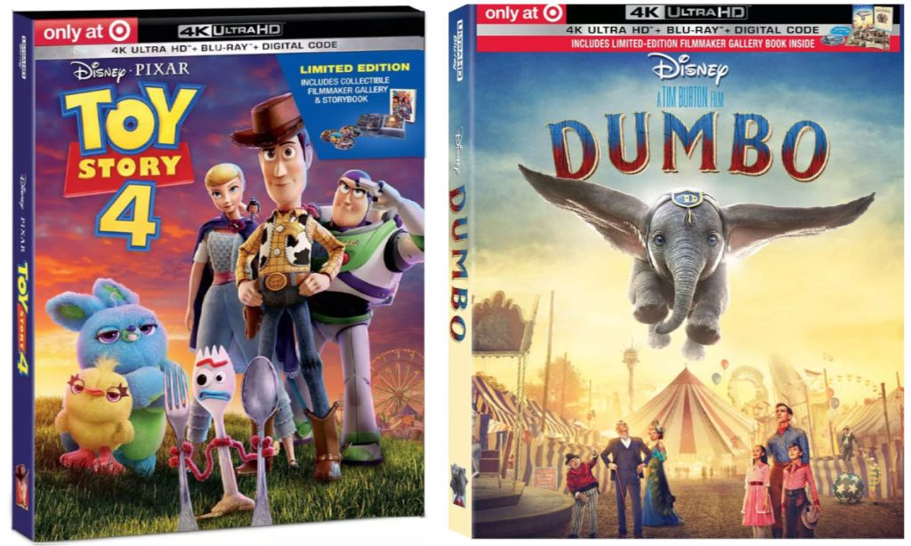 dumbo and toy story 4