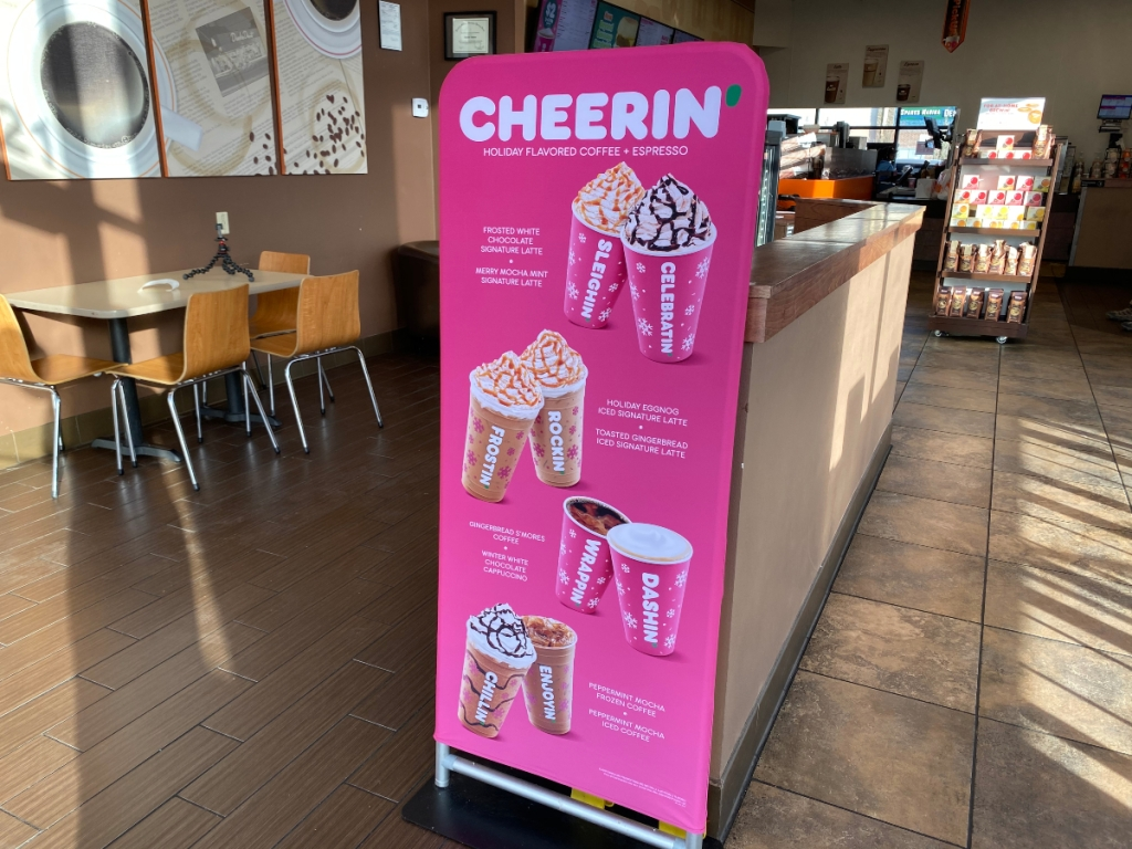 Dunkin' Holiday flavor lineup