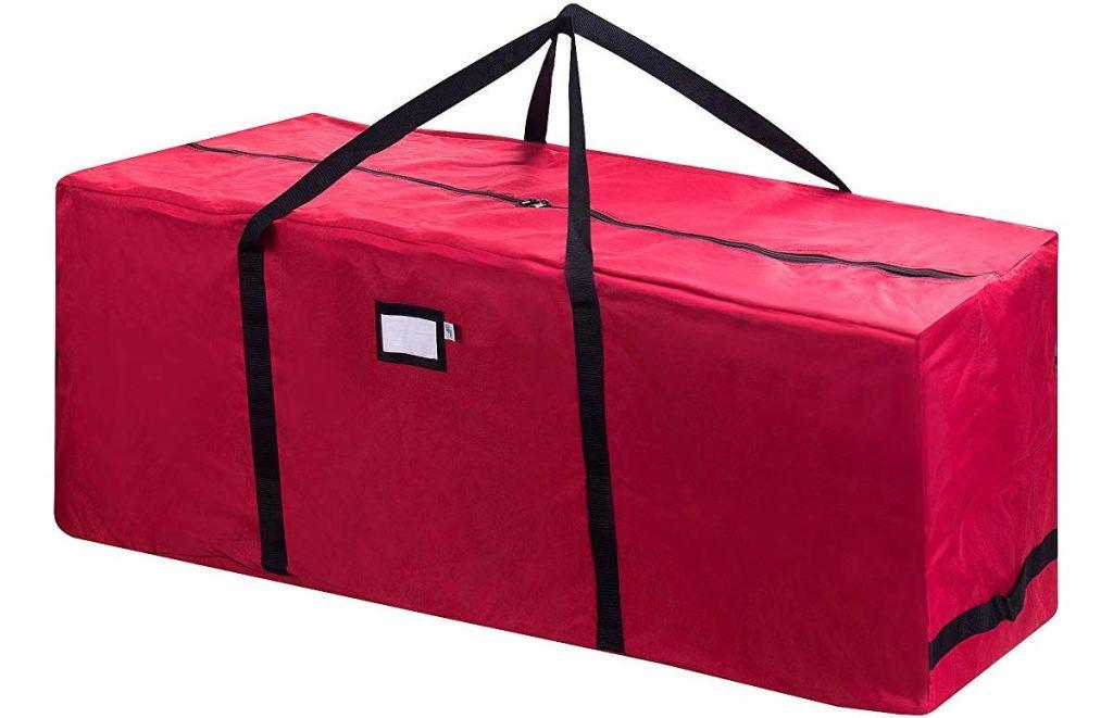 elf-stor red christmas bag