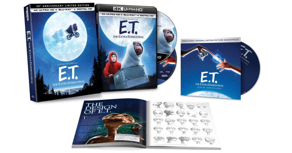 et anniversary edition blu ray