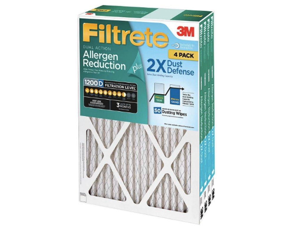 filtrete air filter 4 packs