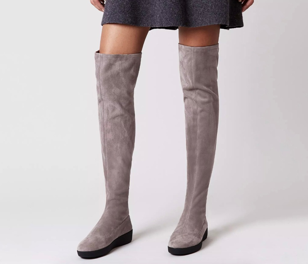 fit flop over the knee boots
