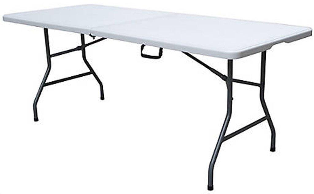 6 foot folding table