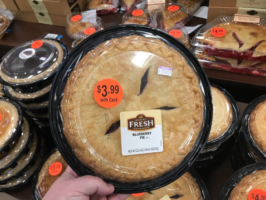 fruit pies at Kroger