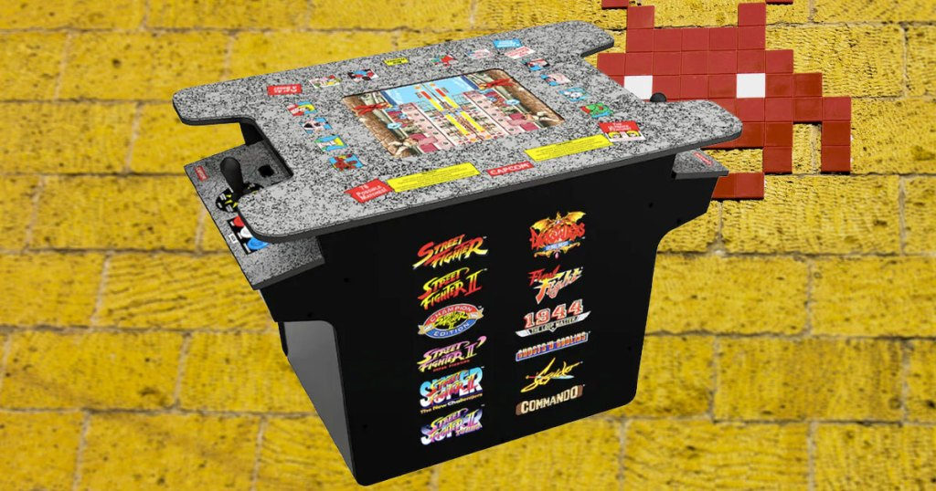 Arcade 1 Up Street Fighter Arcade kohls