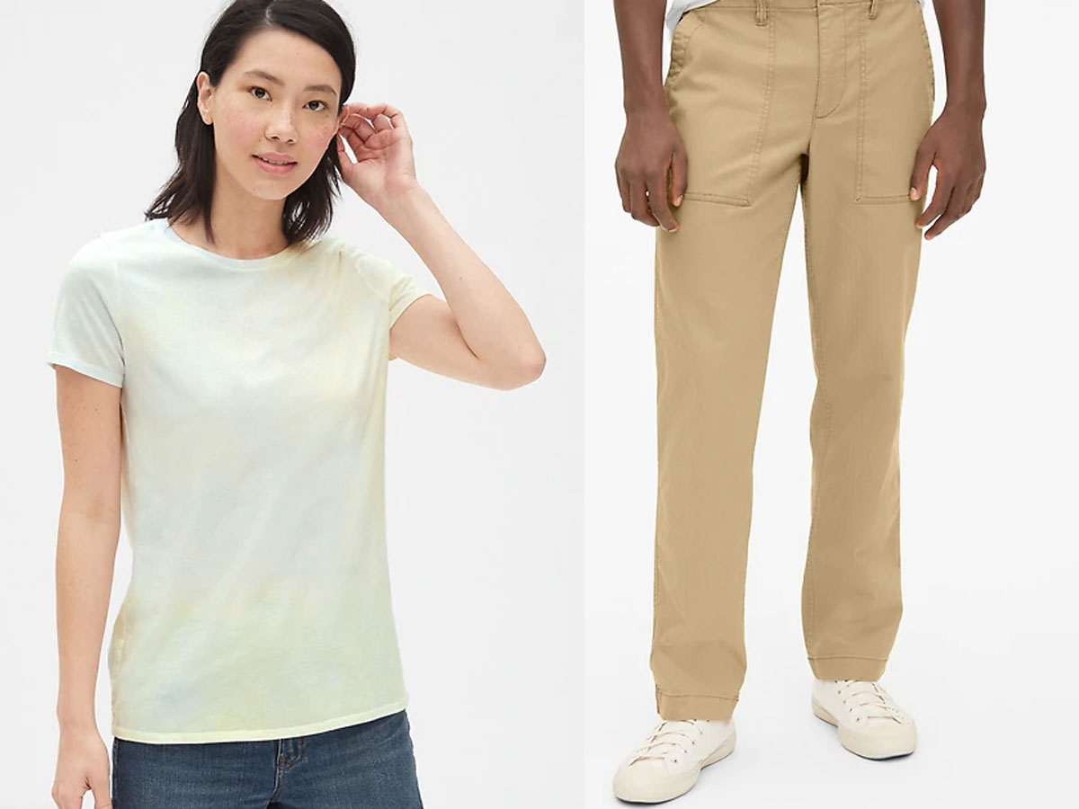 mens and womens clearance clothing at the gap