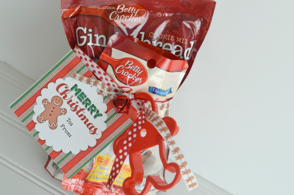 gingerbread cookie christmas gift