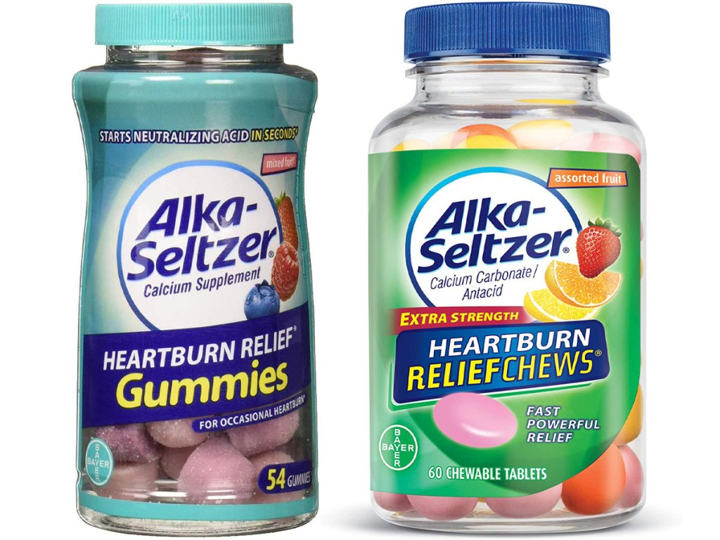alka seltzer and gummies and chews
